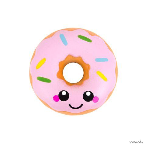 """Игрушка-антистресс """"Сквиши. Пончик"""" (розовый) — фото, картинка"""