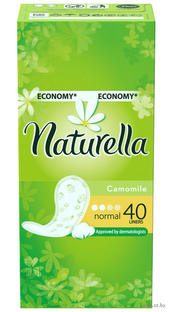 Ежедневные прокладки NATURELLA Normal Deo (40 шт.)