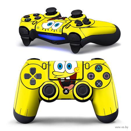 """Наклейка защитная для геймпада """"Sponge Bob"""" (TN-PS4QB-0101) (PS4)"""