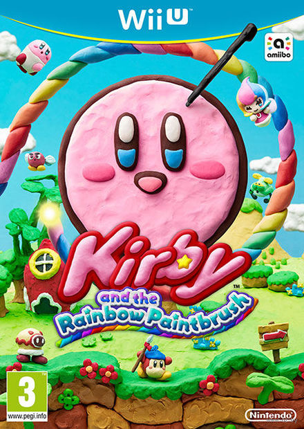 Kirby and the Rainbow Paintbrush (Nintendo Wii U)