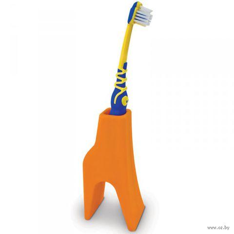 """Держатель для зубной щетки """"Giraffe"""" (оранжевый)"""