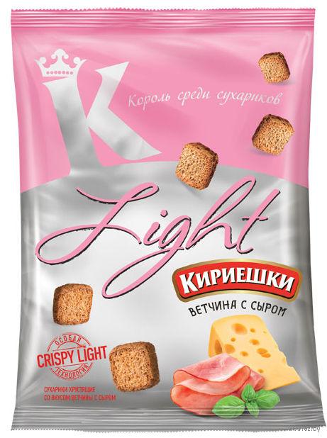 "Сухарики ""Light. Ветчина и сыр"" (80 г) — фото, картинка"