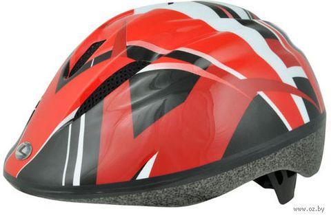 """Шлем велосипедный """"Kids"""" (красный; р. М) — фото, картинка"""