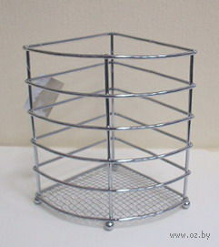 Подставка для столовых приборов металлическая (160х130х170 мм)