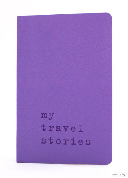 """Записная книжка Молескин """"Volant. My Travel Stories"""" в линейку (А6; светло-пурпурная)"""