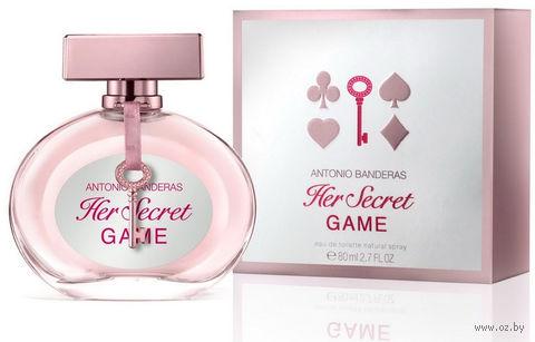 """Туалетная вода для женщин Antonio Banderas """"Her Secret Game"""" (80 мл)"""
