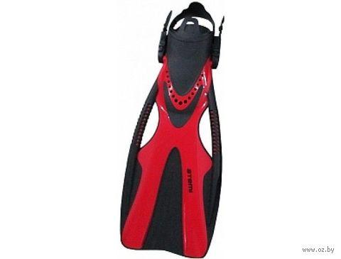 Ласты для плавания 200 (S/M; красные) — фото, картинка
