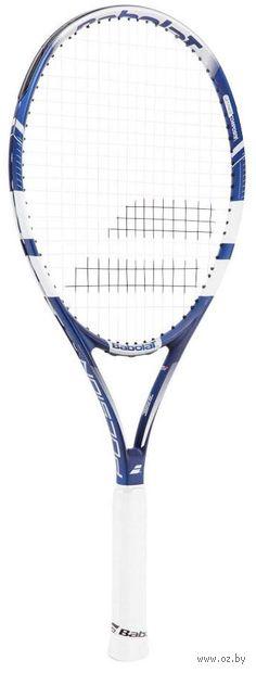 """Ракетка для большого тенниса """"Pulsion 105 Gr3"""" (сине-белая) — фото, картинка"""
