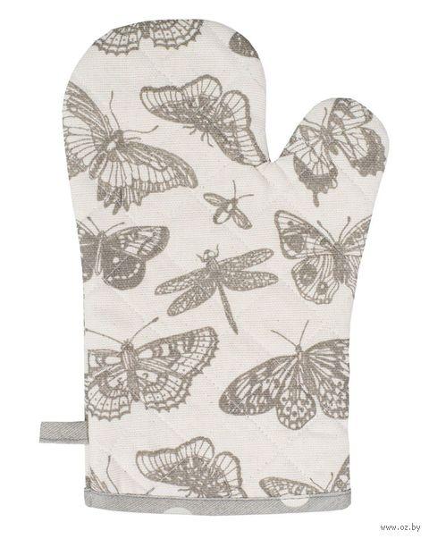 "Рукавица кухонная ""Бабочки"" (180х300 мм) — фото, картинка"