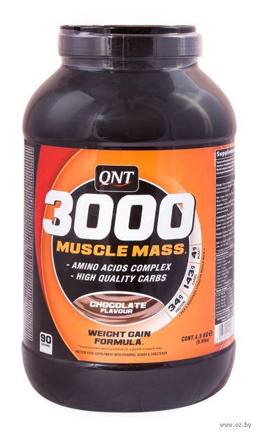 """Гейнер """"3000 MuscleMass"""" (4500 г; шоколад) — фото, картинка"""