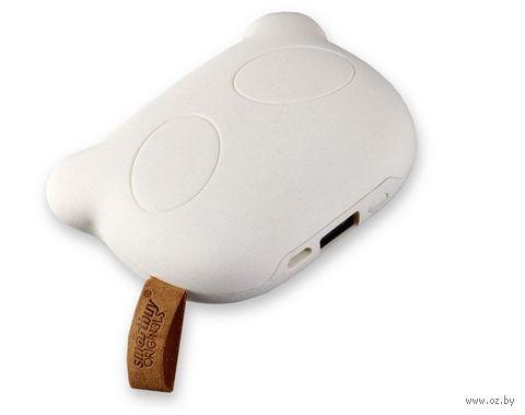 Внешний аккумулятор (Power bank) SmartBuy PANDA RULES, 5200 мАч, белый (SBPB-8010)