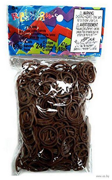 """Набор резиночек для плетения """"Rainbow Loom. Какао"""" — фото, картинка"""