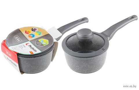 Ковш металлический с крышкой для индукционных плит (1,4 л) — фото, картинка