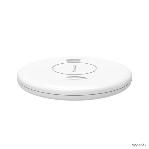 Зарядное устройство Yoobao Wireless Charging Pad D1 (белый) — фото, картинка