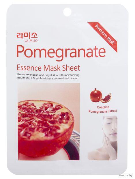 """Тканевая маска для лица """"С экстрактом граната"""" (21 г) — фото, картинка"""