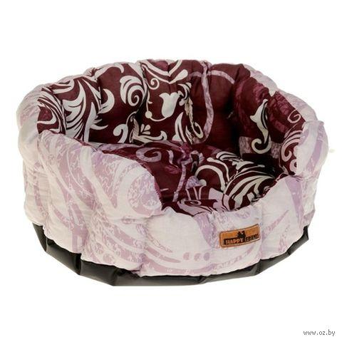 Лежак для животных (43х16 см; глициниево-вишневый) — фото, картинка