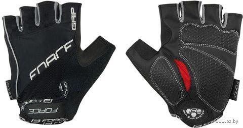"""Перчатки велосипедные """"Grip"""" (L; чёрные) — фото, картинка"""