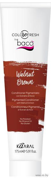"""Оттеночный кондиционер для волос """"С экстрактом грецкого ореха"""" тон: walnut brown — фото, картинка"""
