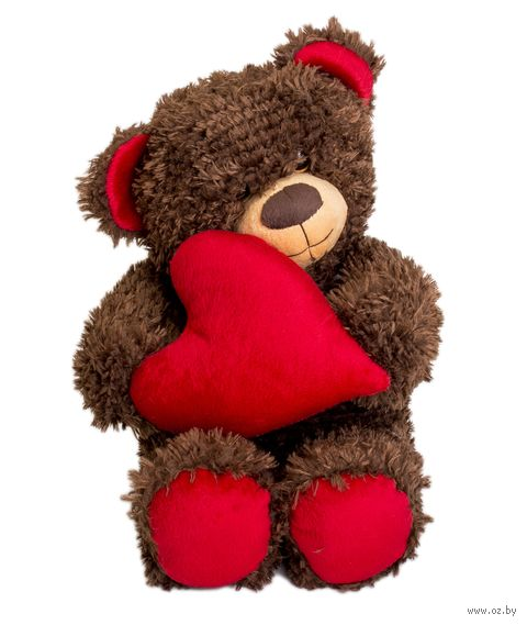 """Мягкая игрушка """"Медвежонок Чиба с сердцем"""" (27 см) — фото, картинка"""