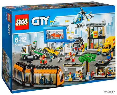 """LEGO City """"Городская площадь"""""""