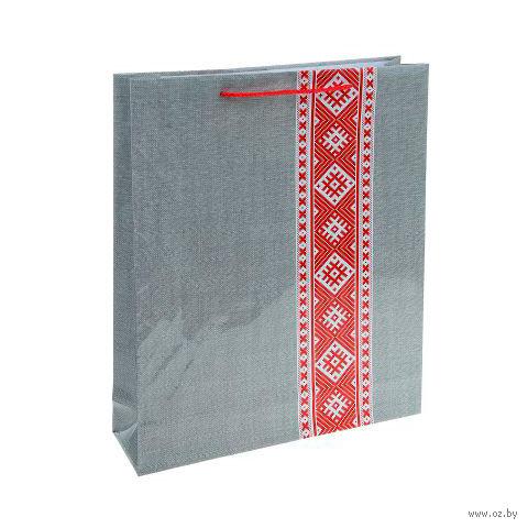 Пакет бумажный подарочный (31х40х9 см; арт. BB101385)