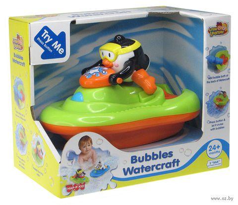 """Заводная игрушка для купания """"Пингвиненок на катере"""""""