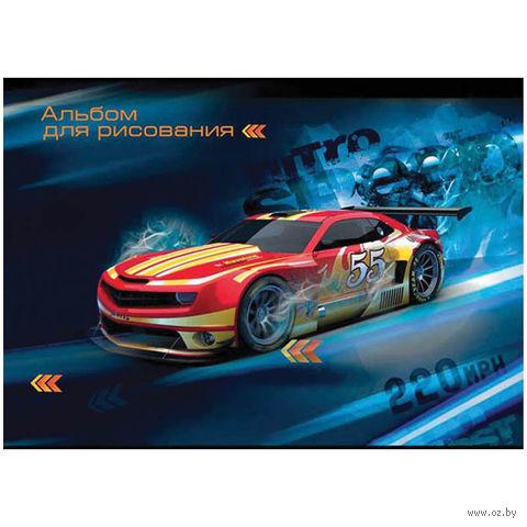 """Альбом для рисования А4 """"Авто. Nitro Speed"""" (12 листов)"""