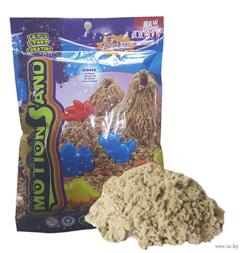 """Кинетический песок """"Motion Sand"""" (натуральный; 0,5 кг) — фото, картинка"""
