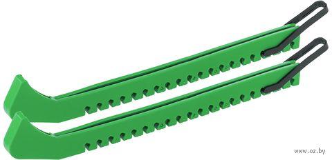 Чехлы для лезвия коньков (пара; зелёные) — фото, картинка