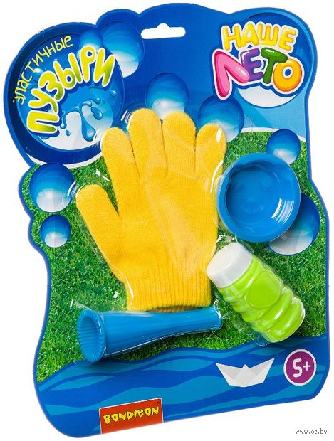 Мыльные пузыри (60 мл.; с перчаткой) — фото, картинка