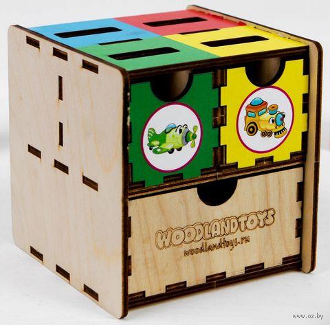 """Деревянная игрушка """"Комодик. Транспорт"""" — фото, картинка"""