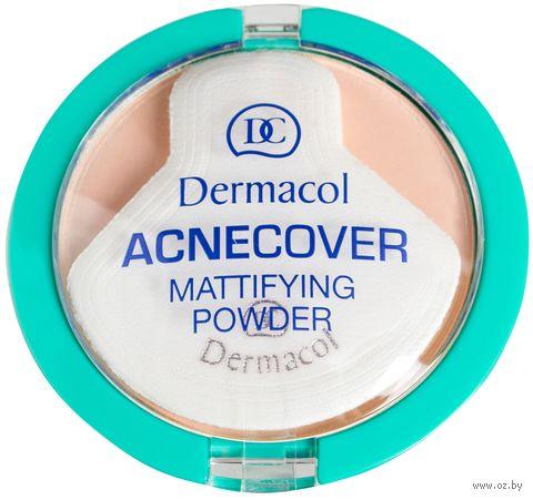 """Компактная пудра для лица """"Acnecover"""" (тон: 1, фарфоровый)"""