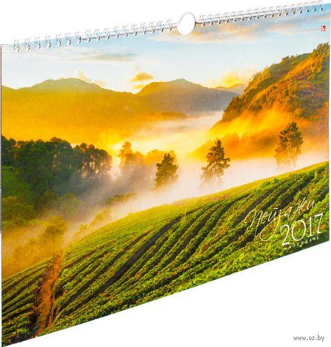"""Календарь настенный перекидной на 2017 год """"Природа. Магия пейзажей"""""""