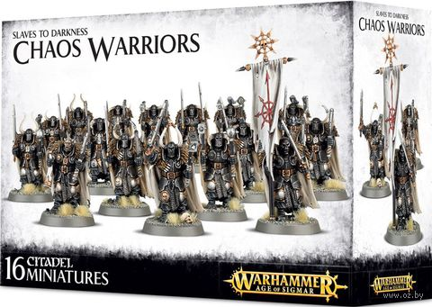Warhammer Age of Sigmar. Slaves to Darkness. Chaos Warriors (83-06) — фото, картинка