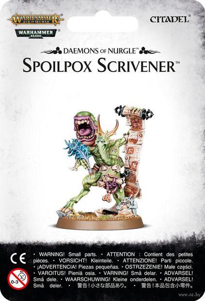 Warhammer Age of Sigmar. Daemons of Nurgle. Spoilpox Scrivener (83-47) — фото, картинка