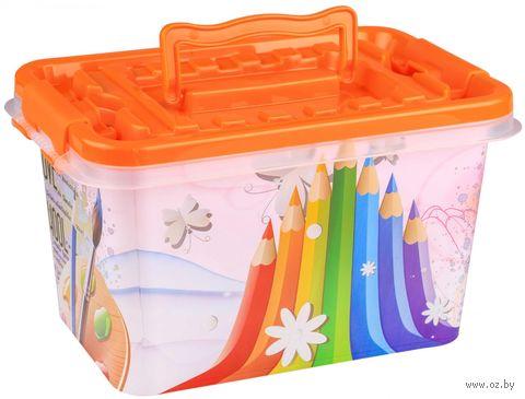 """Ящик для хранения игрушек """"Школьник"""" — фото, картинка"""