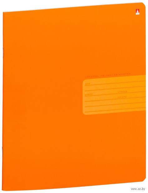 """Тетрадь в клетку """"Простые цвета"""" (18 листов; в ассортименте) — фото, картинка"""