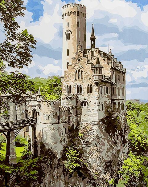 """Картина по номерам """"Замок на скале"""" (400х500 мм) — фото, картинка"""