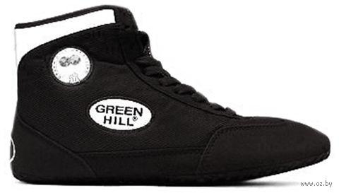 Обувь для борьбы GWB-3052/GWB-3055 (р. 35; чёрно-белая) — фото, картинка