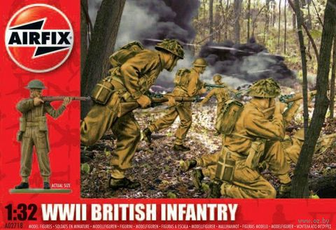 "Набор миниатюр ""WW.II Британская пехота"" (масштаб: 1/32) — фото, картинка"
