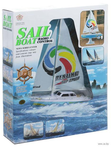 Яхта на радиоуправлении — фото, картинка