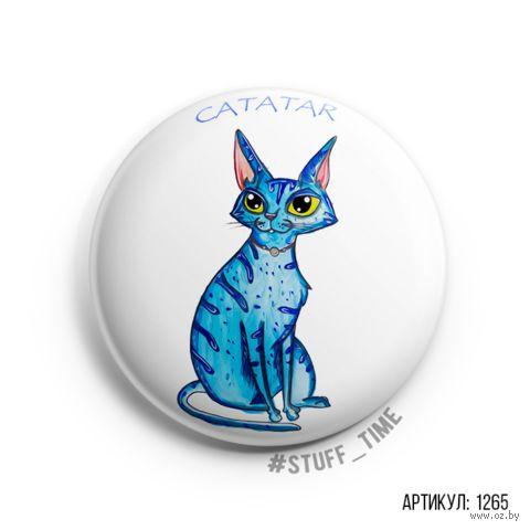 """Значок """"Catatar"""" (арт. 1265) — фото, картинка"""