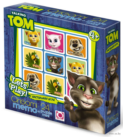 "Домино ""Talking Tom"" — фото, картинка"