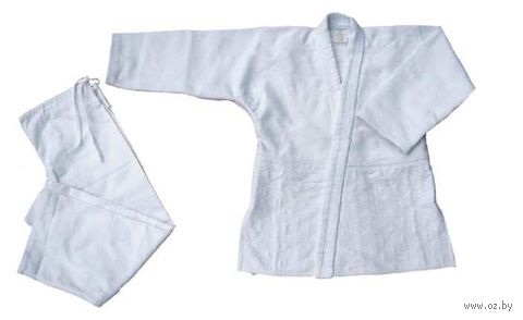 Кимоно для дзюдо AX7 (р.44-46/165; белое) — фото, картинка