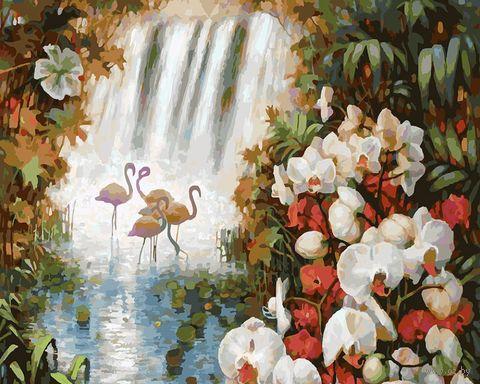 """Картина по номерам """"Райский сад"""" (400х500 мм) — фото, картинка"""