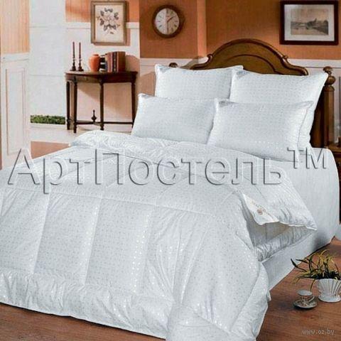 Одеяло стеганое (140х205 см; полуторное; арт. 2014) — фото, картинка