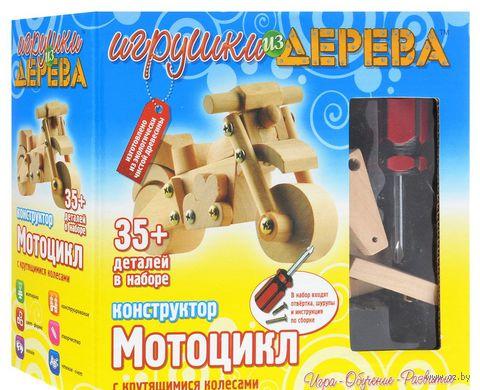 """Конструктор """"Мотоцикл"""" (16 деталей)"""