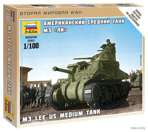 """Сборная модель """"Американский танк M3 """"Ли"""" (масштаб: 1/100) — фото, картинка"""