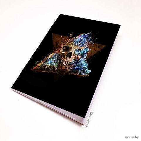 """Блокнот """"Череп"""" (А5; арт. 932) — фото, картинка"""