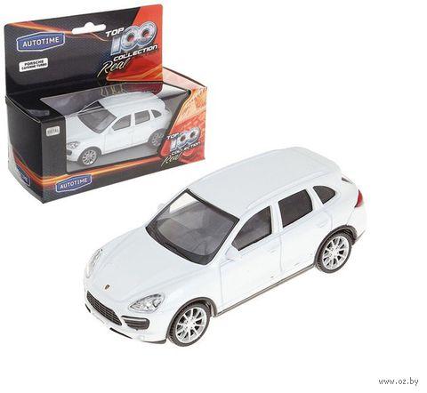 "Модель машины ""Porsche Cayenne Turbo 4"" (масштаб: 1/43)"